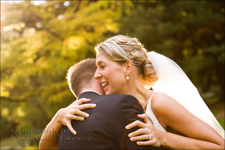 wedding at Pleasantdale Chateau - bride and groom photograph