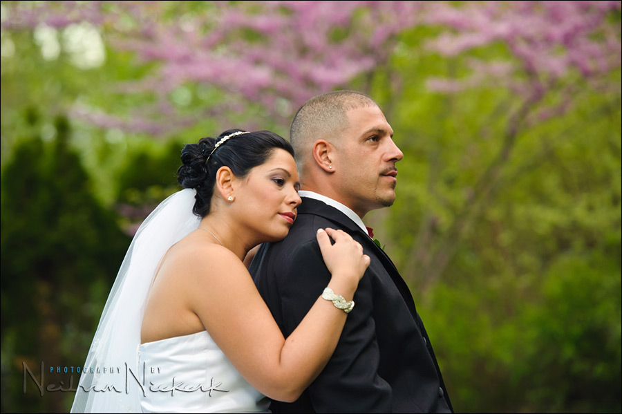 NJ wedding photographer - The Tides, NJ - bride and groom portrait