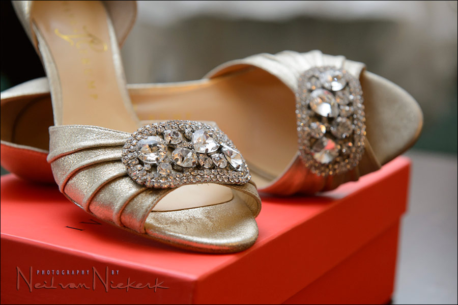 Ivanka Trump wedding shoes bride
