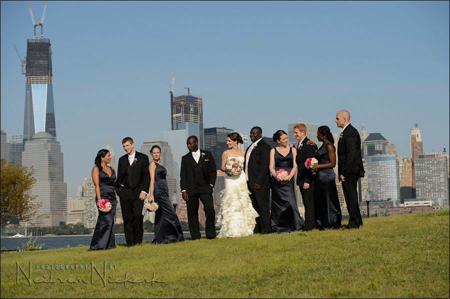 Liberty State Park, New Jersey wedding