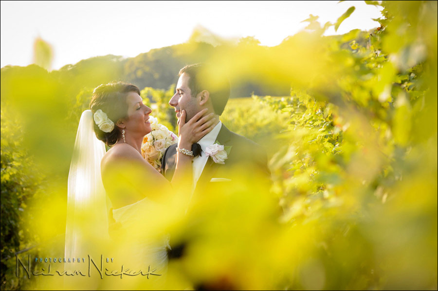 Laurita Winery, NJ - wedding portraits, bride and groom