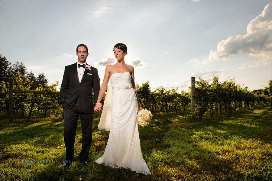 wedding photography Laurita Winery NJ