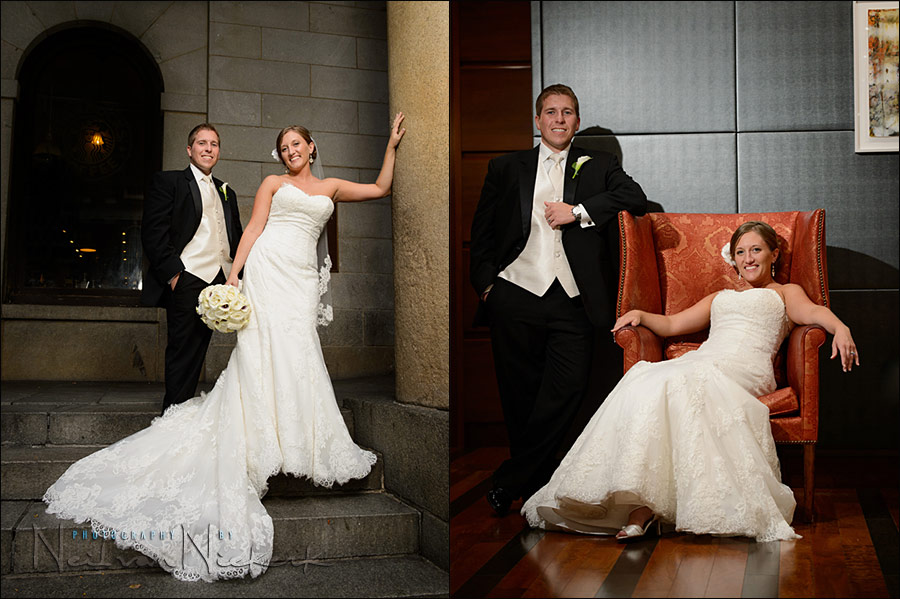 wedding photographer Boston Millenium hotel
