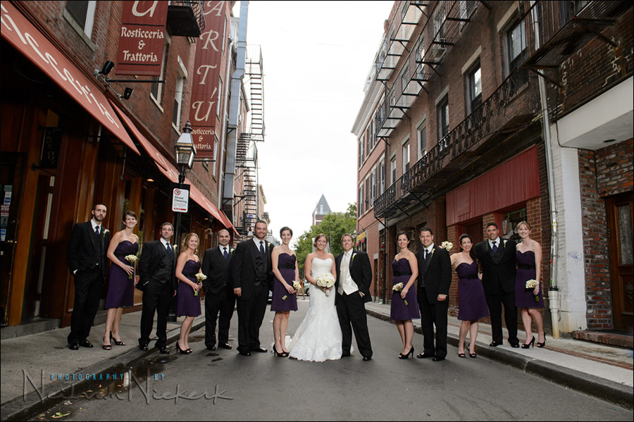 Boston wedding photography North End