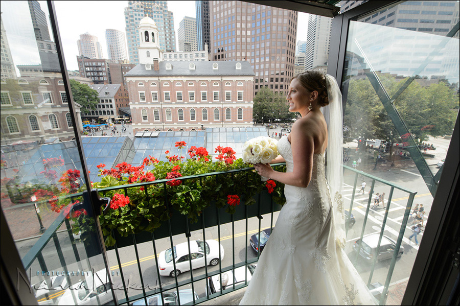 Boston Millenium Hotel wedding