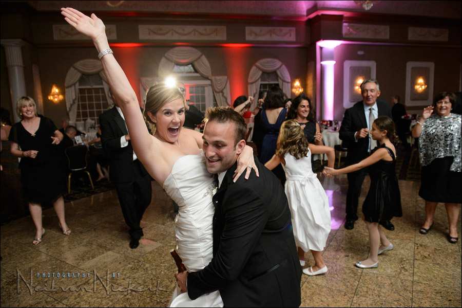 Valley Regency wedding reception photos