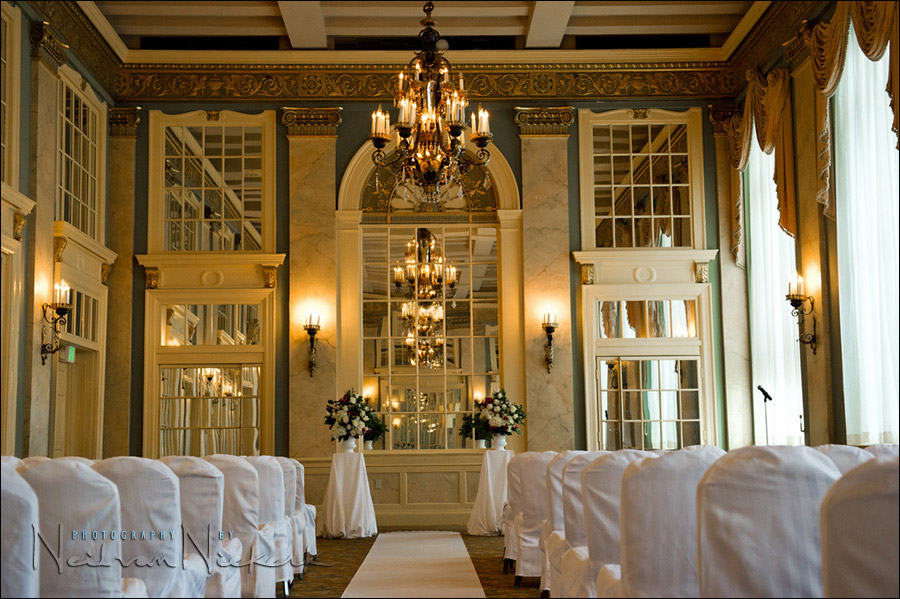 Lord Baltimore wedding ceremony room