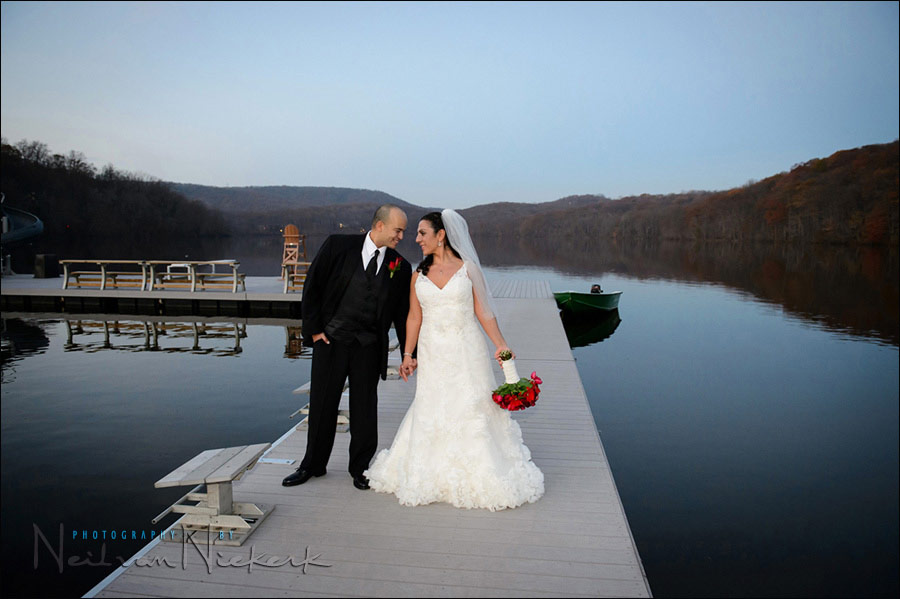 wedding photography Lake Valhalla Club