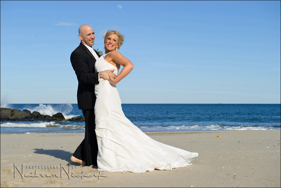 NJ beach wedding photography