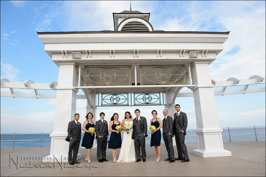 NJ wedding bridal party photo