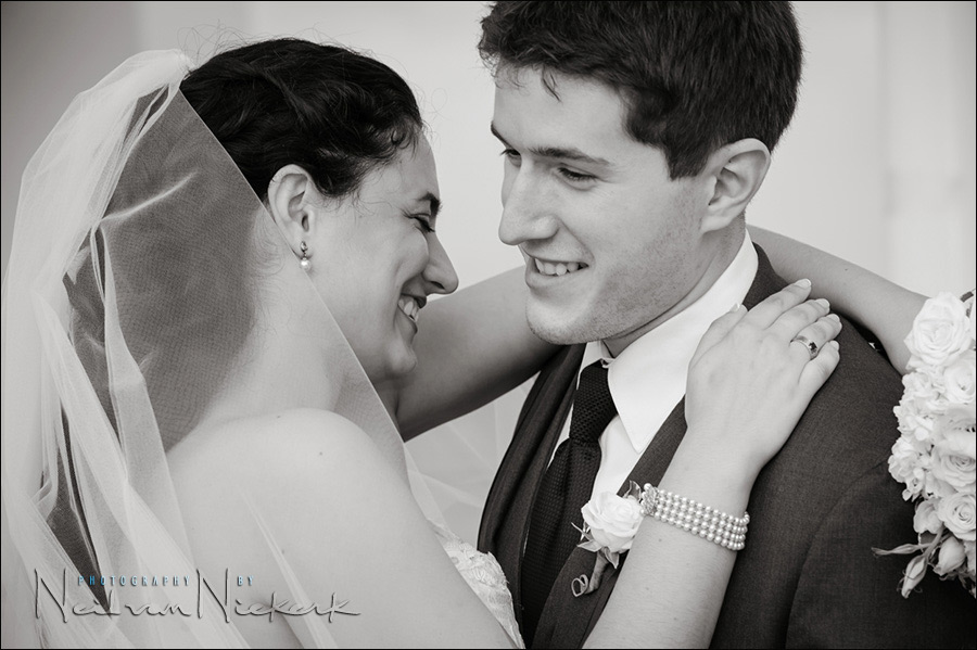 NJ wedding portraits bride & groom