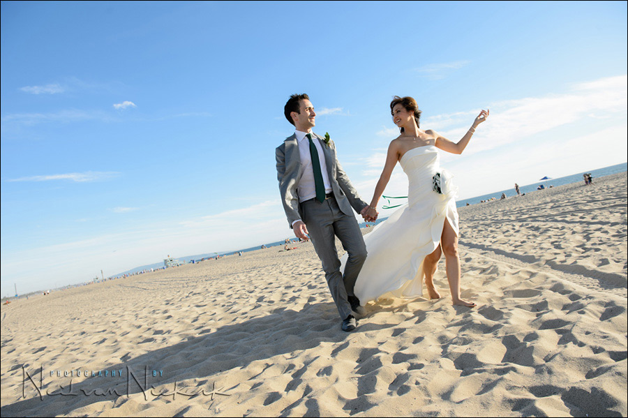 Santa Monica wedding photos