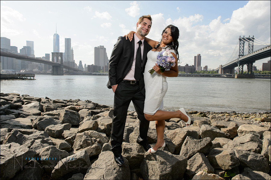 Elopement wedding city hall nyc new york wedding for City hall wedding dresses nyc