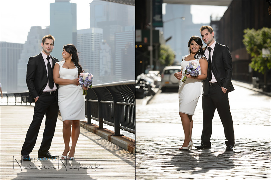 NYC Elopement wedding, New York