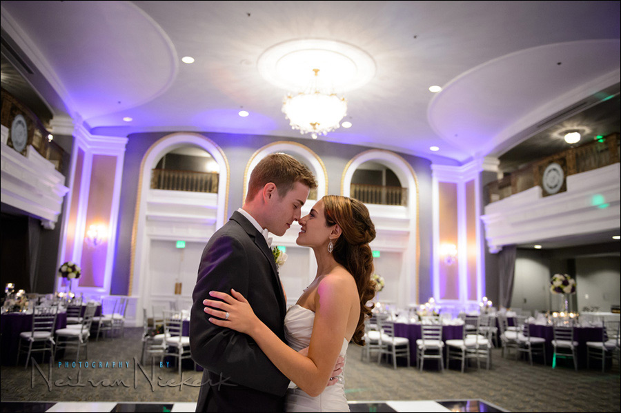 Lord Baltimore hotel wedding reception Maryland photographers