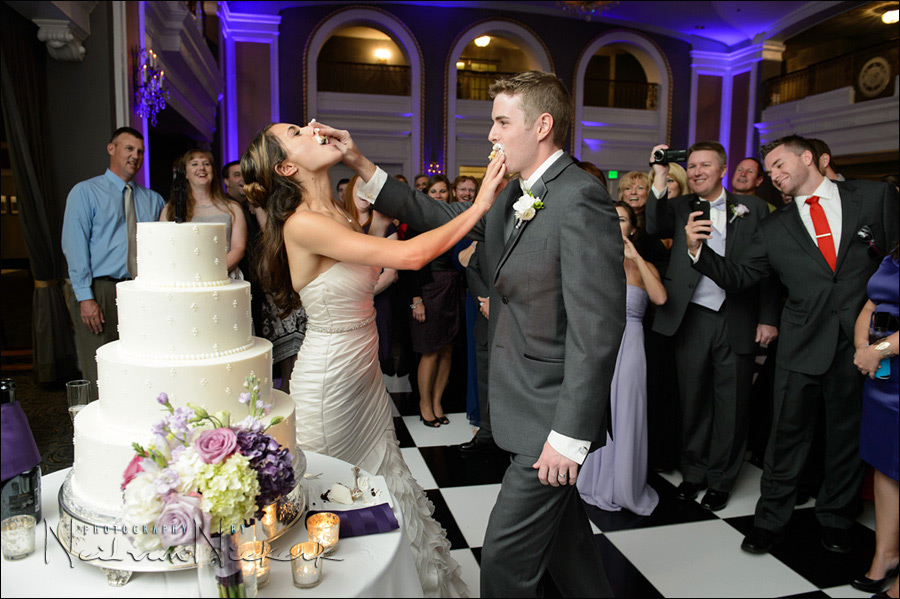 Lord Baltimore hotel wedding reception