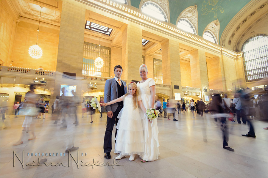 New York elopement wedding - Grand Central