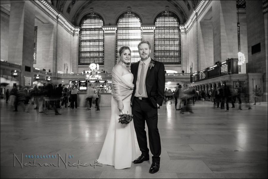 Central Station elopement wedding photography