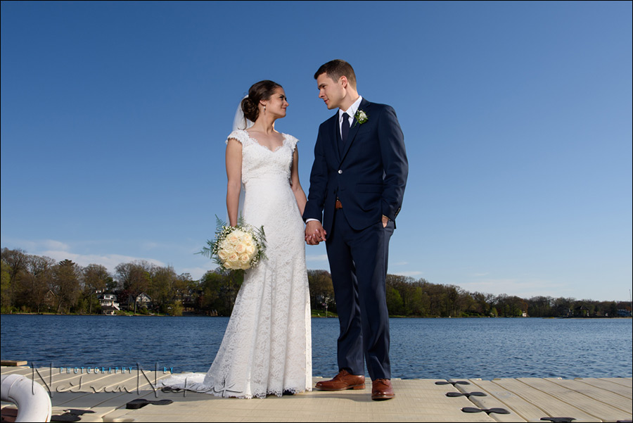 Mountain Lakes Club NJ wedding photography