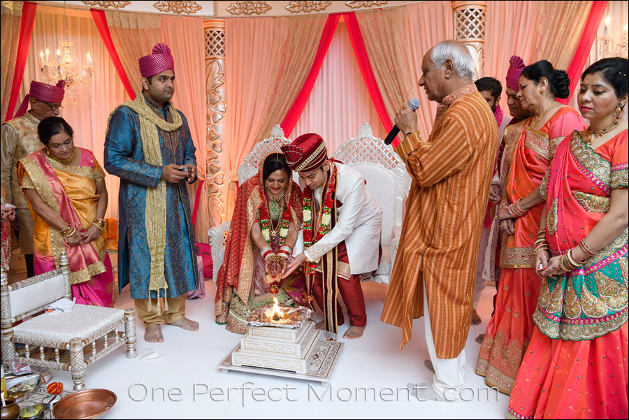 Jasmin Viraj S Wedding Day Hindu Photography Nj Indian Weddings