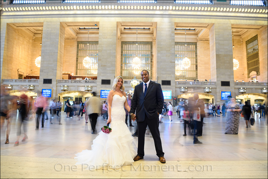 Elopement wedding Grand Central New York