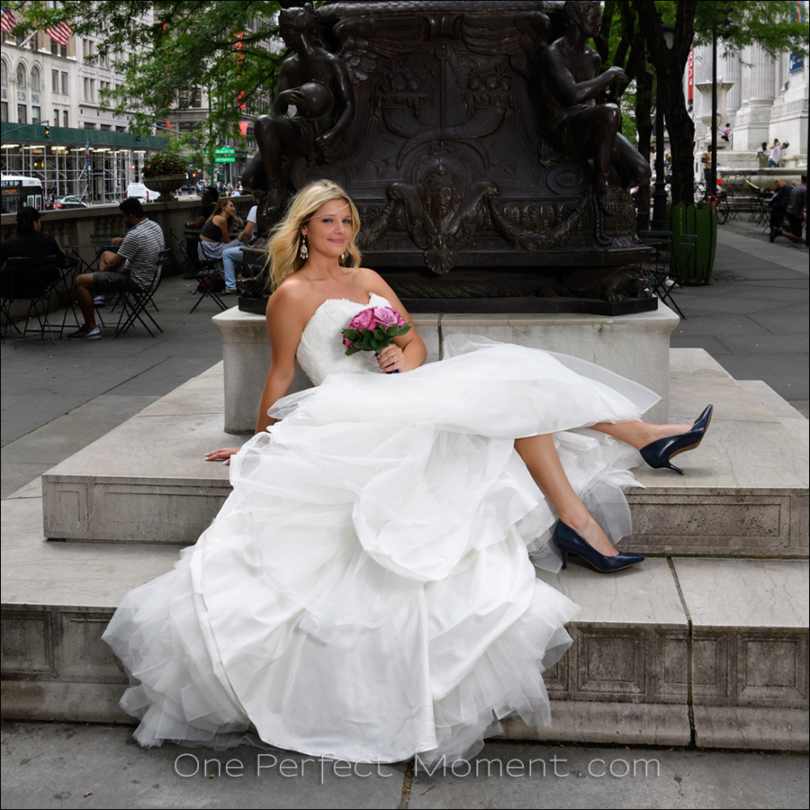 Elopement wedding bride New York
