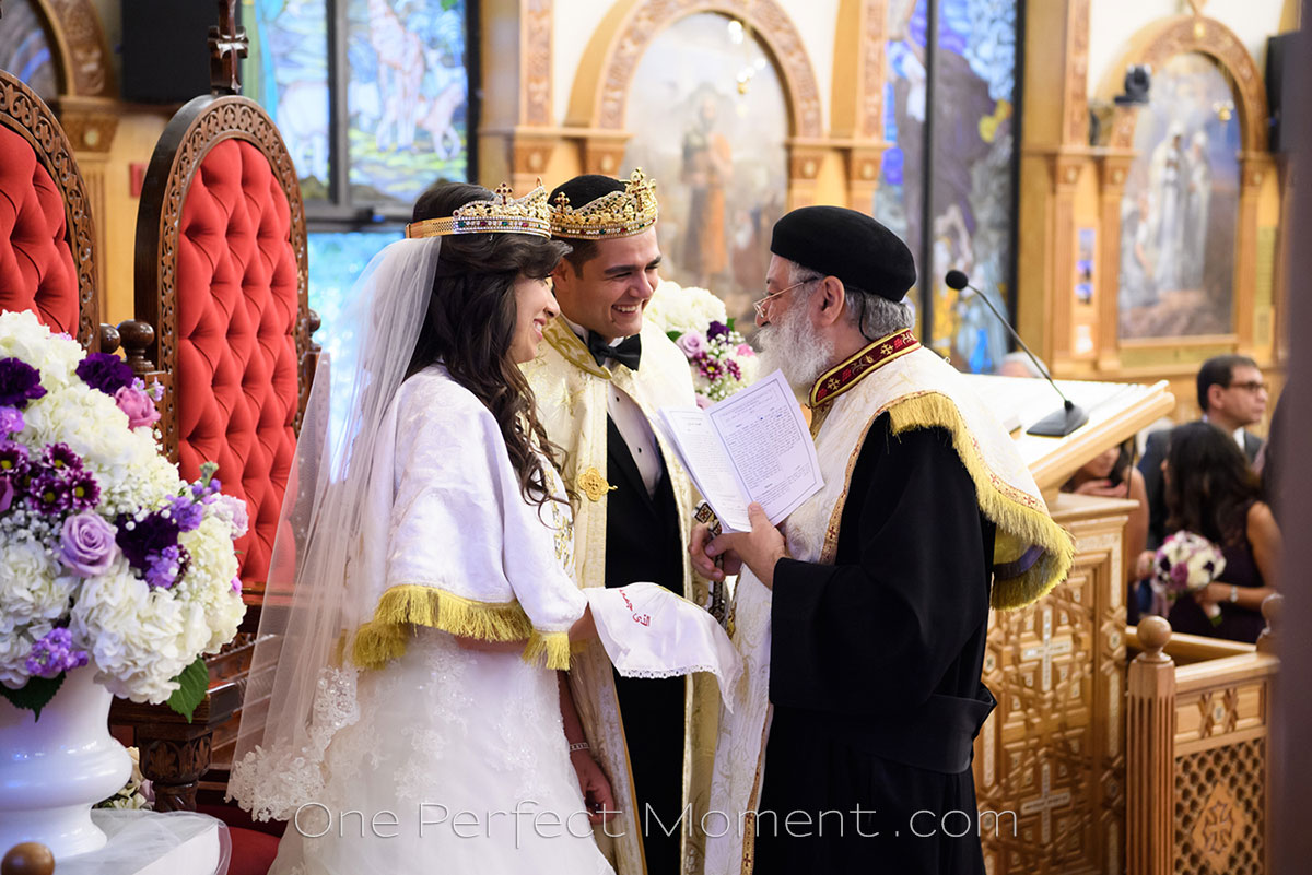 Egyptian Coptic wedding NJ