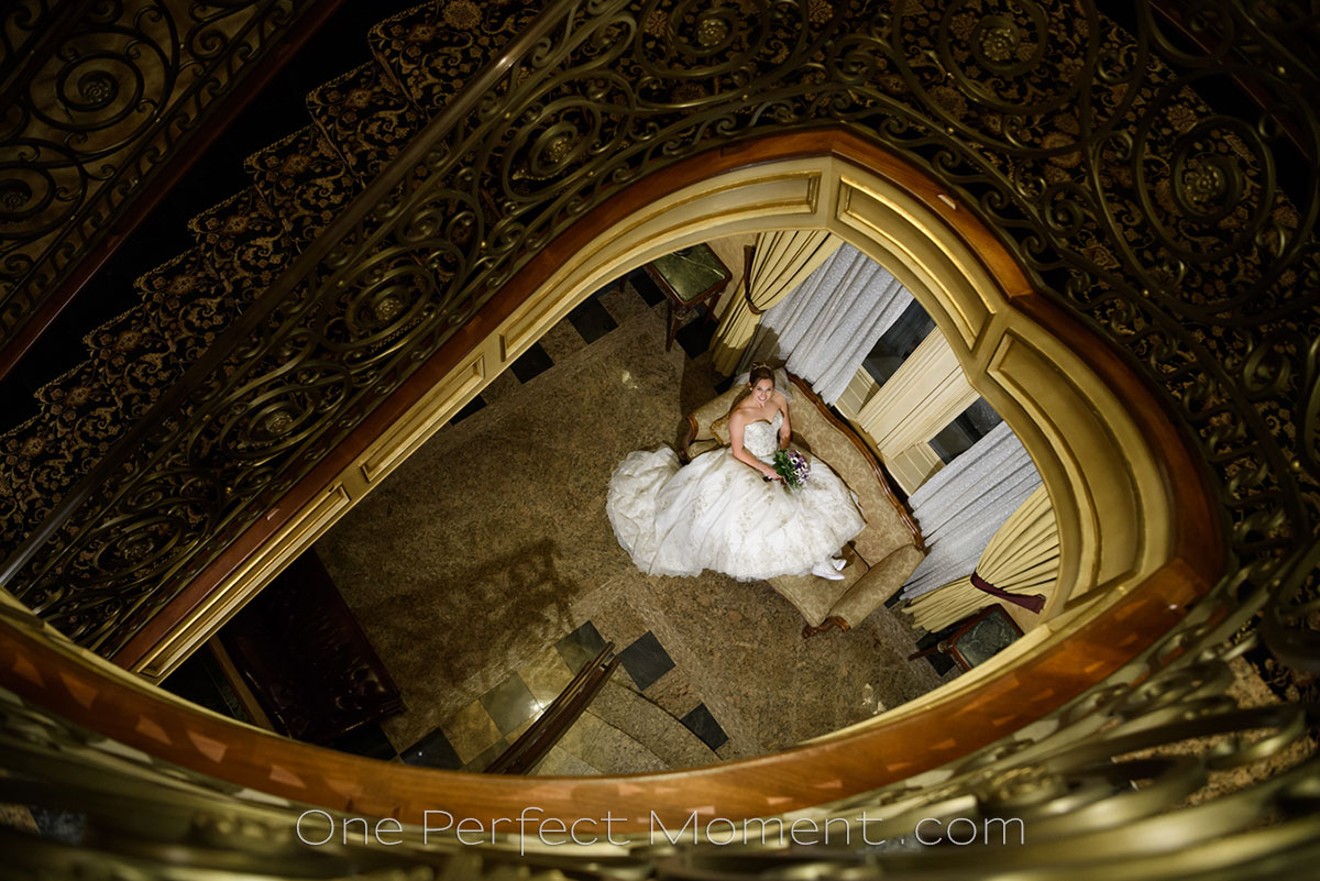 wedding photography bride portrait The Seasons wedding venue NJ