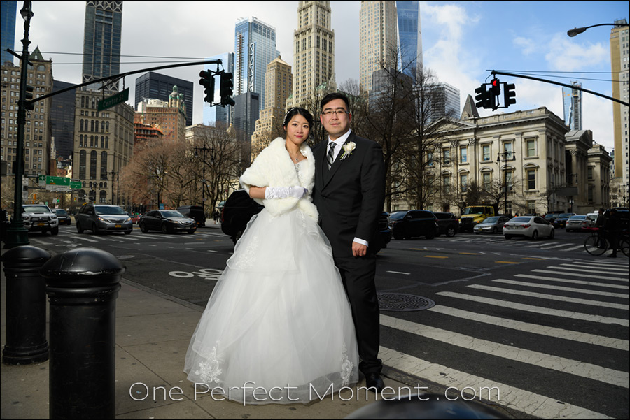 New York elopement wedding NYC City Hall