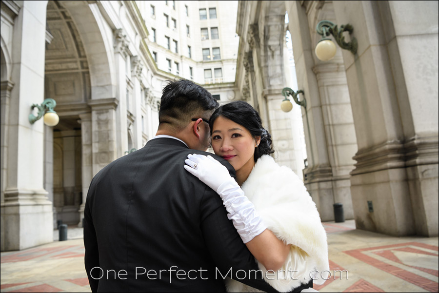 elopement wedding photography City Hall New York
