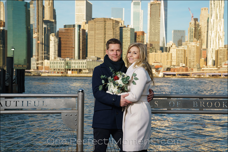 NYC elopement wedding Brooklyn New York