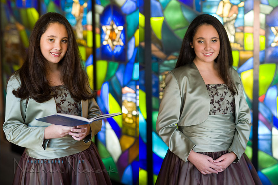 Bar / Bat Mitzvah portrait