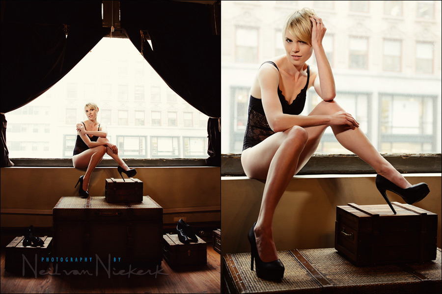 NYC boudoir photo session / intimate photo session New York