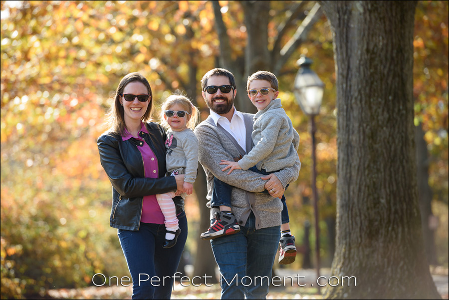family outdoor portraits NJ photographer candid photography