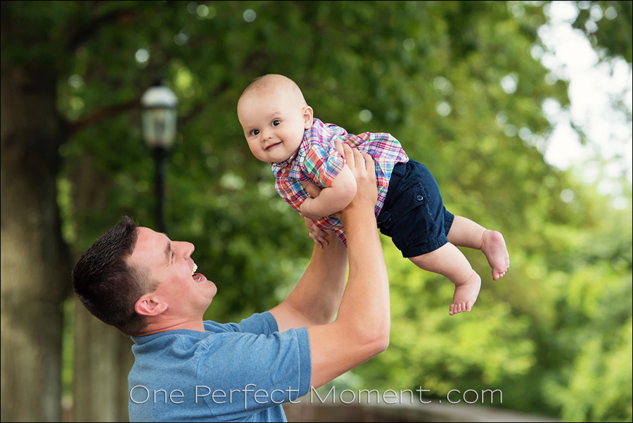 outdoor baby portrait photographer NJ