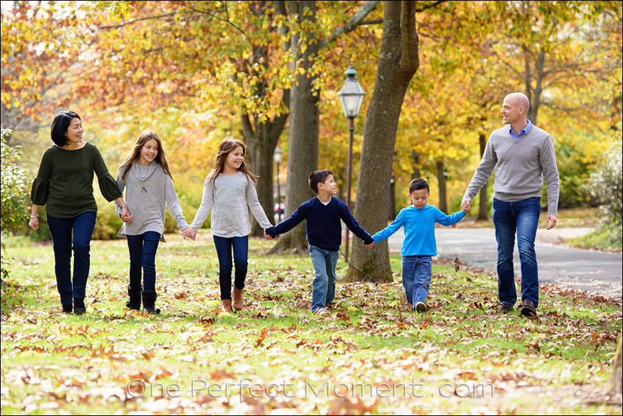 Fall photo sessions NJ family photographer