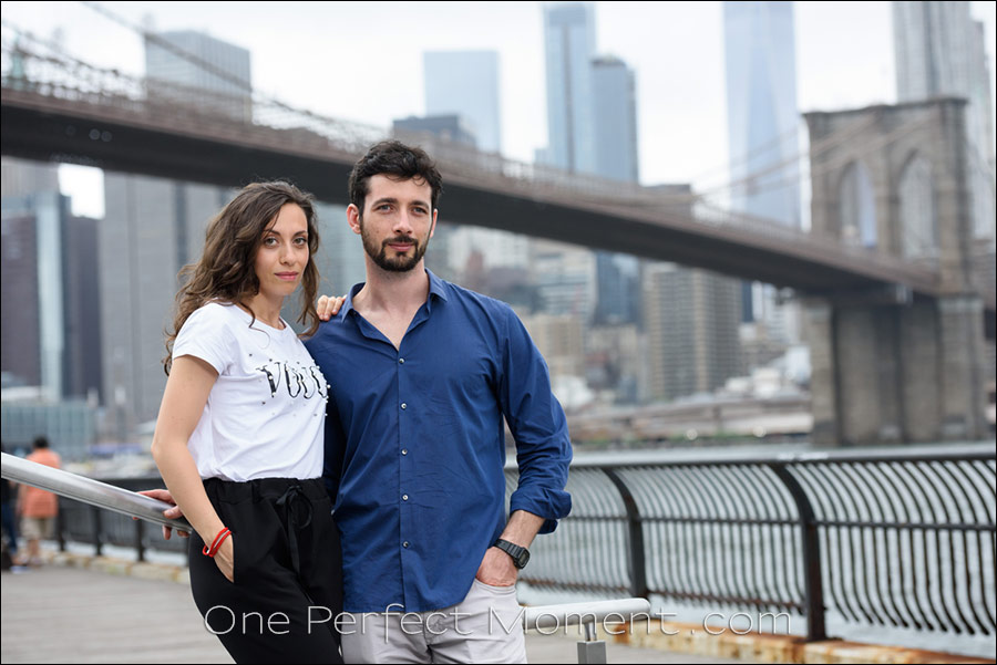 New York photo session NYC Brooklyn waterfront
